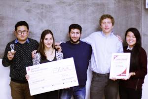 FinaleDritterPlatz Startup Wettbewerb