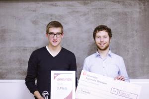 FinaleZweiterPlatz Startup Wettbewerb