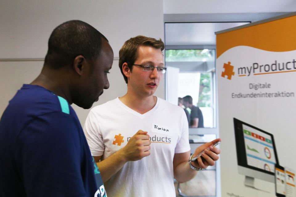 Startup MyProducts Vorstellung
